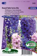 Larkspur tall Round Table Series Mix